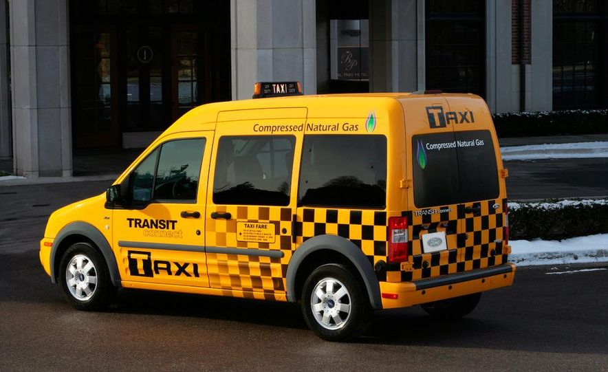 2011 Ford Transit Connect natural gas taxi - Slide 27