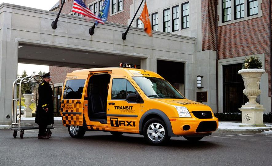 2011 Ford Transit Connect natural gas taxi - Slide 28