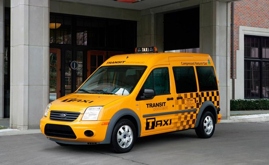 2011 Ford Transit Connect natural gas taxi - Slide 29
