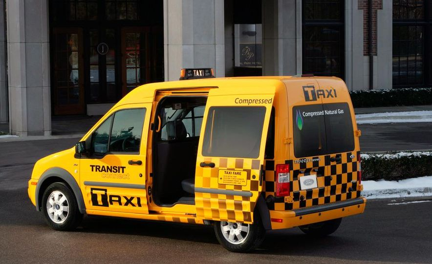 2011 Ford Transit Connect natural gas taxi - Slide 30