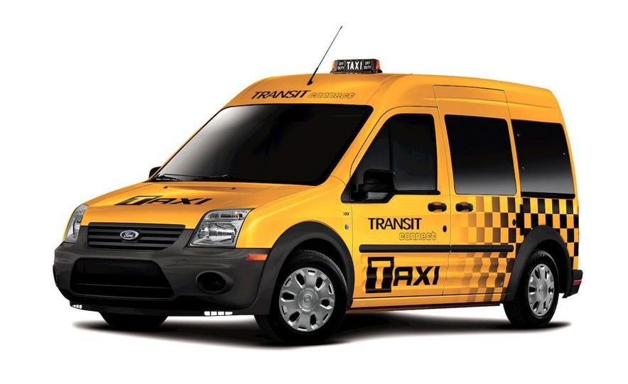 2011 Ford Transit Connect natural gas taxi - Slide 31