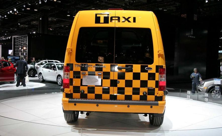 2011 Ford Transit Connect natural gas taxi - Slide 1