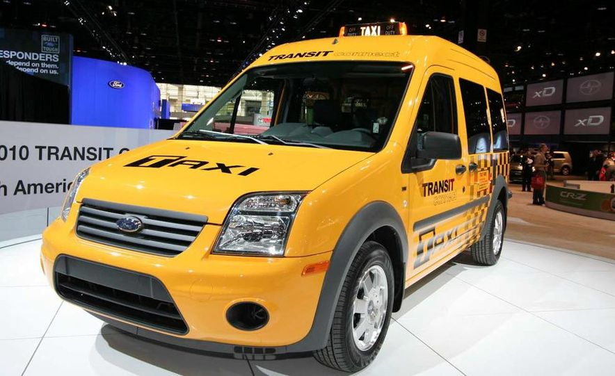 2011 Ford Transit Connect natural gas taxi - Slide 3