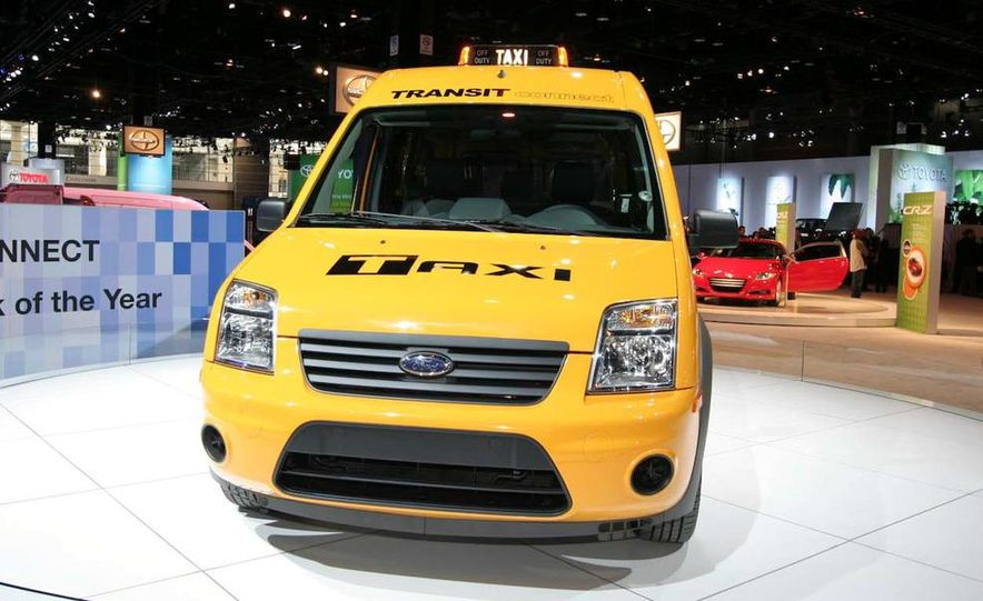 2011 Ford Transit Connect natural gas taxi - Slide 4