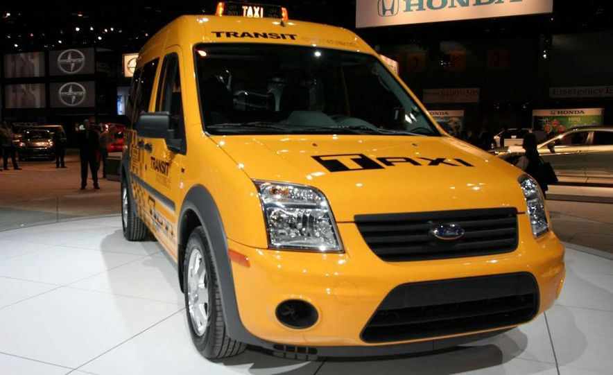 2011 Ford Transit Connect natural gas taxi - Slide 5