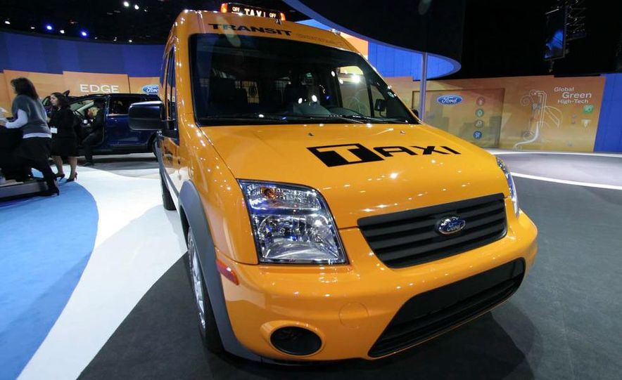 2011 Ford Transit Connect natural gas taxi - Slide 7