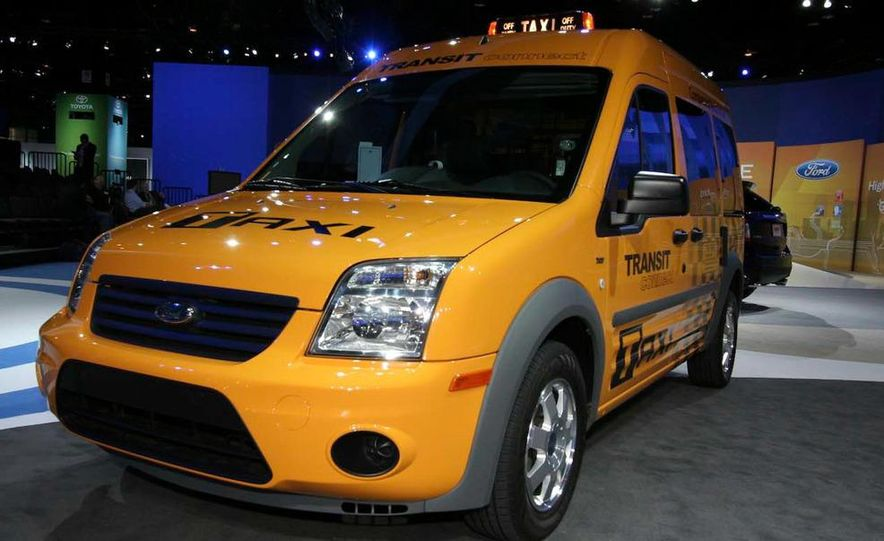 2011 Ford Transit Connect natural gas taxi - Slide 8