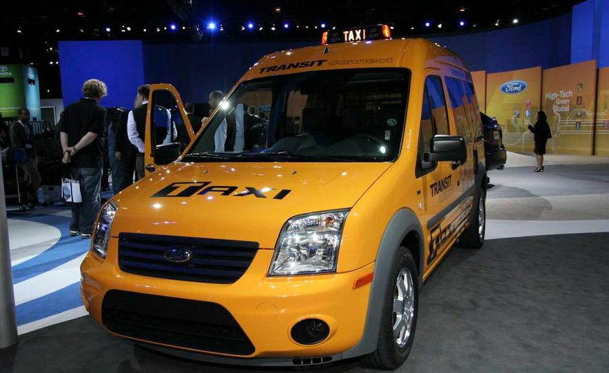 2011 Ford Transit Connect natural gas taxi - Slide 12