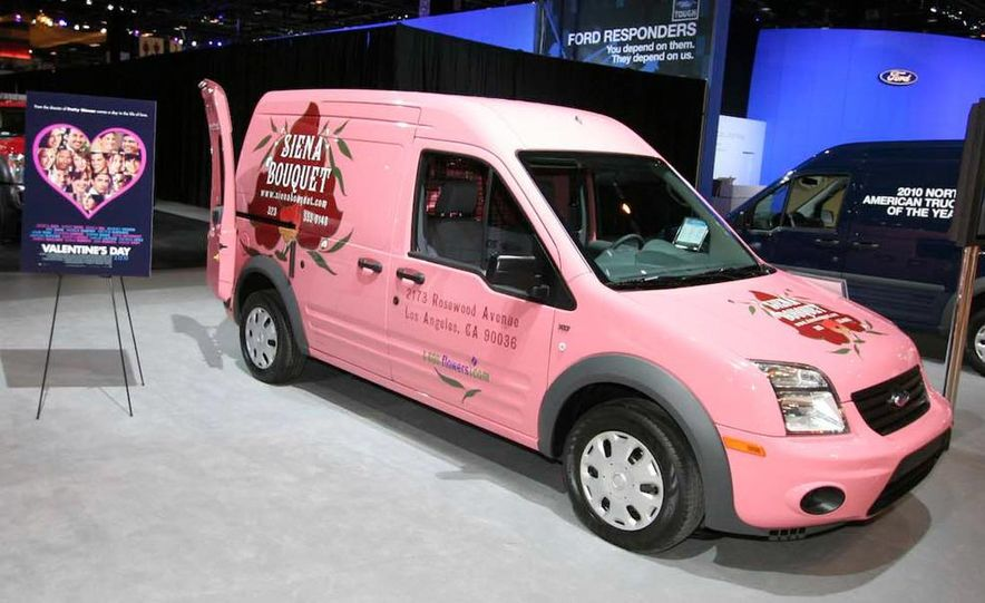 2011 Ford Transit Connect natural gas taxi - Slide 17