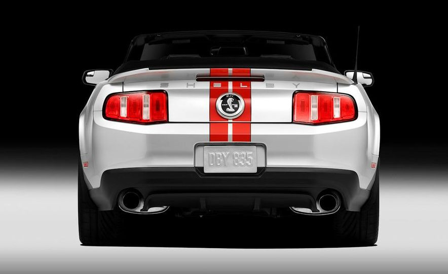 2011 Ford Mustang Shelby GT500 coupe with SVT performance package - Slide 69