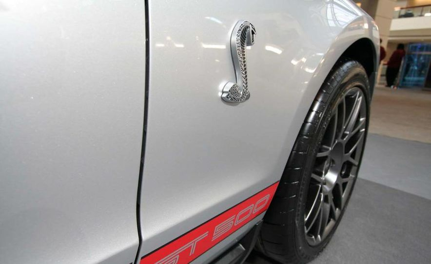 2011 Ford Mustang Shelby GT500 coupe with SVT performance package - Slide 20