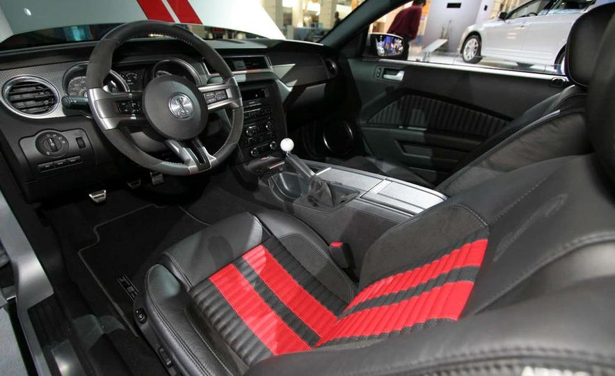 2011 Ford Mustang Shelby GT500 coupe with SVT performance package - Slide 38