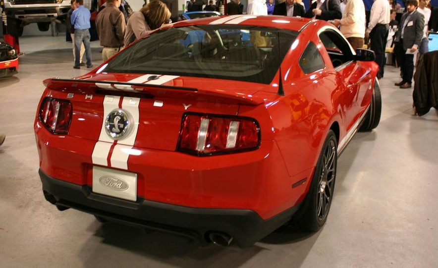 2011 Ford Mustang Shelby GT500 coupe with SVT performance package - Slide 43
