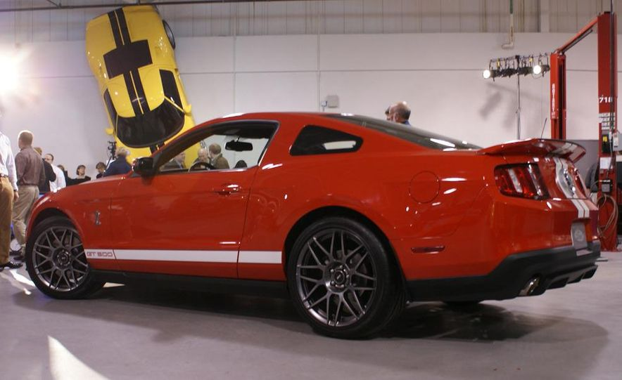 2011 Ford Mustang Shelby GT500 coupe with SVT performance package - Slide 48