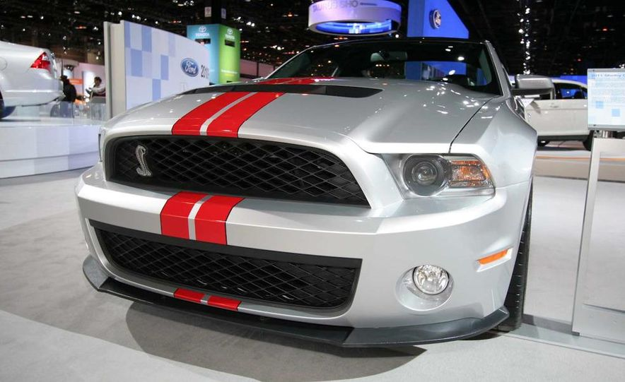 2011 Ford Mustang Shelby GT500 coupe with SVT performance package - Slide 2