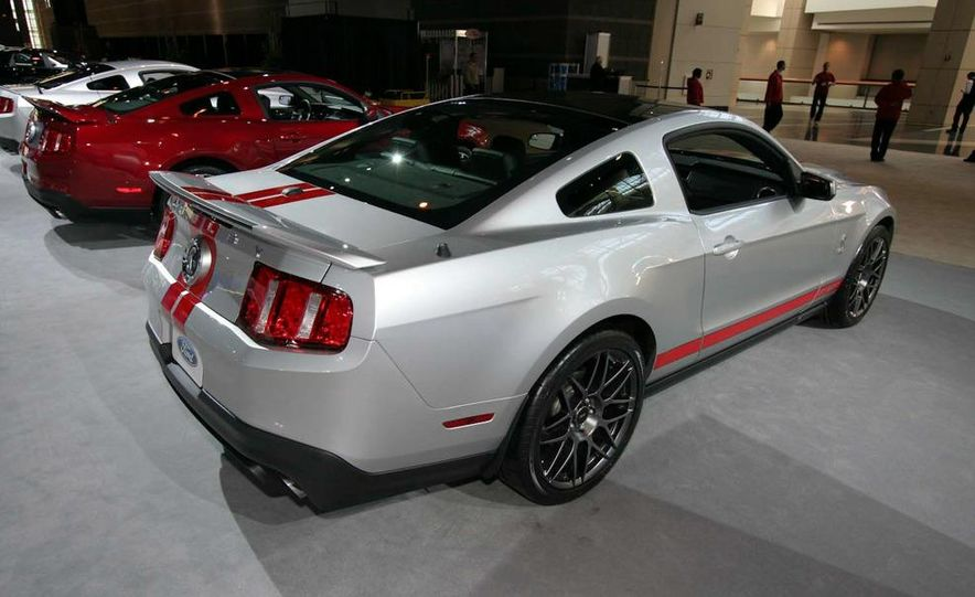 2011 Ford Mustang Shelby GT500 coupe with SVT performance package - Slide 12