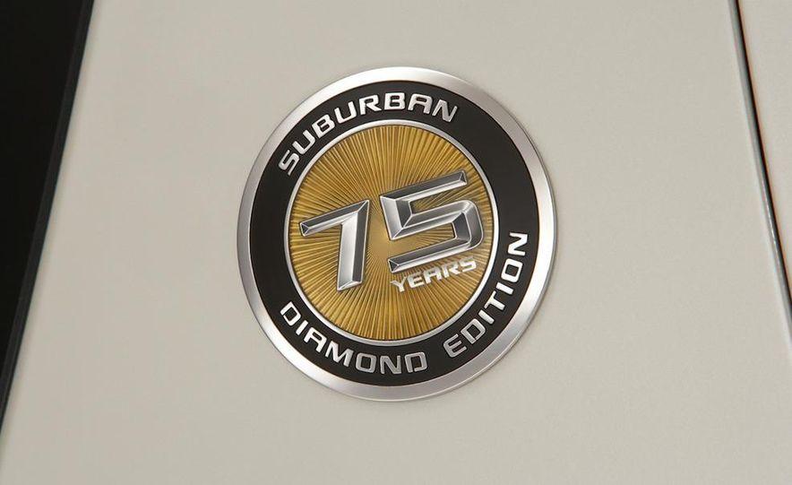 2010 Chevrolet Suburban 75th Anniversary Diamond Edition - Slide 16