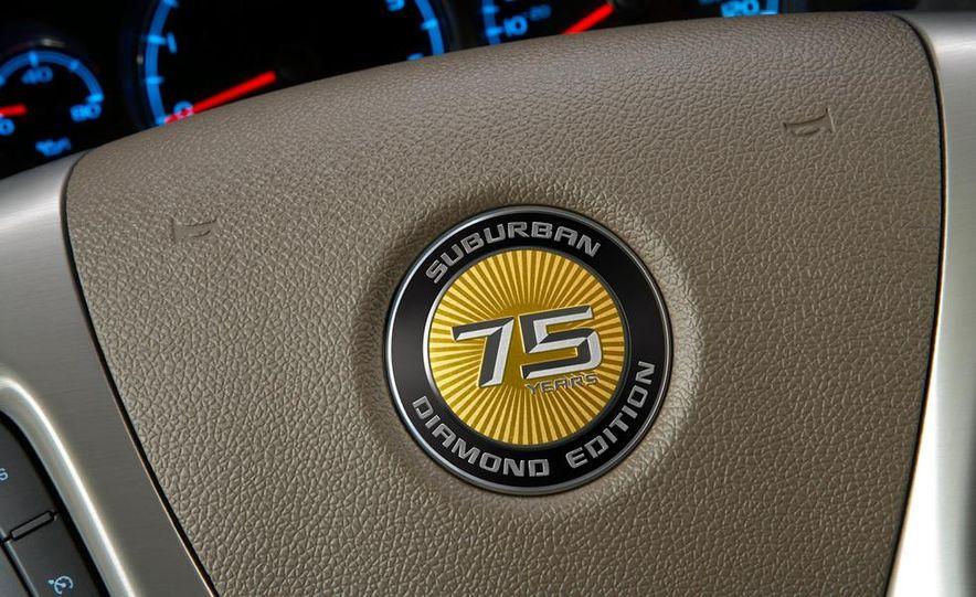 2010 Chevrolet Suburban 75th Anniversary Diamond Edition - Slide 17