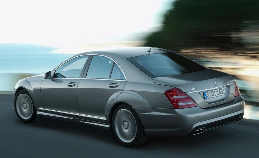 2012 Mercedes-Benz S-class (spy photo) - Slide 7