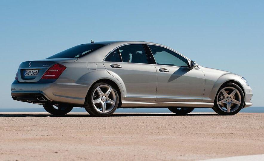2012 Mercedes-Benz S-class (spy photo) - Slide 18