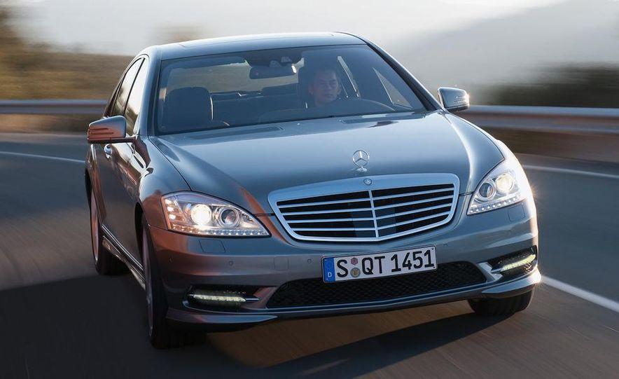 2012 Mercedes-Benz S-class (spy photo) - Slide 8