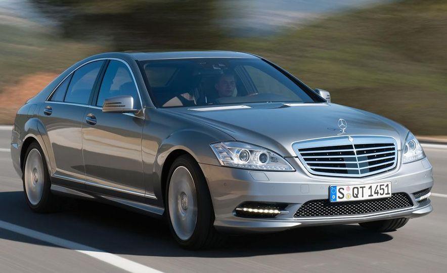 2012 Mercedes-Benz S-class (spy photo) - Slide 9