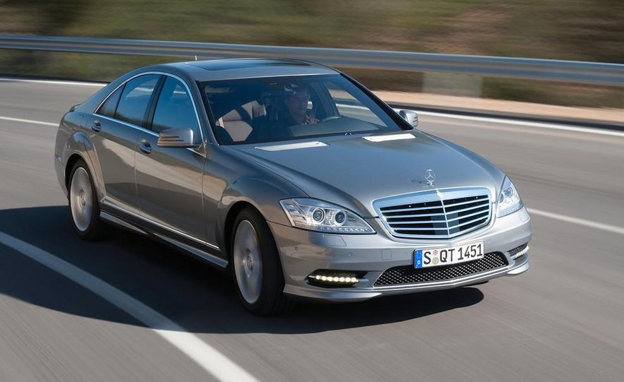 2012 Mercedes-Benz S-class (spy photo) - Slide 10