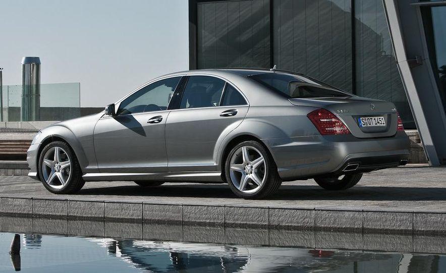 2012 Mercedes-Benz S-class (spy photo) - Slide 20