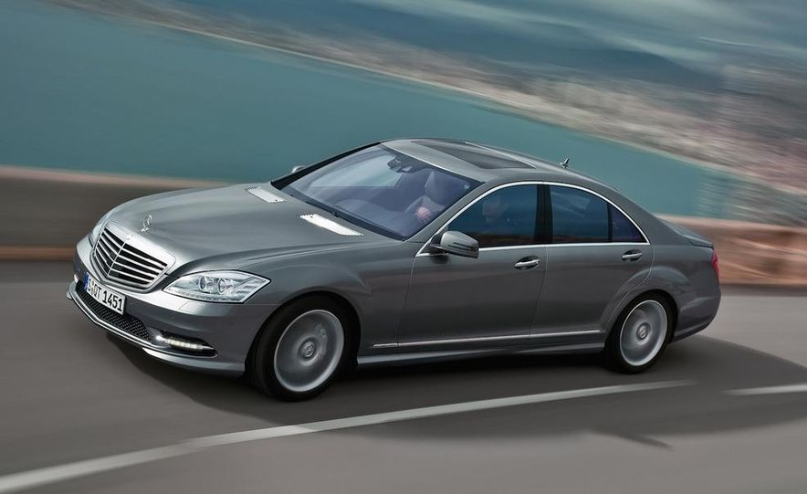 2012 Mercedes-Benz S-class (spy photo) - Slide 12
