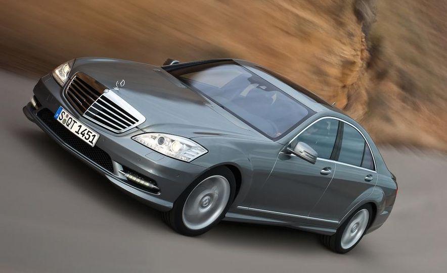 2012 Mercedes-Benz S-class (spy photo) - Slide 13