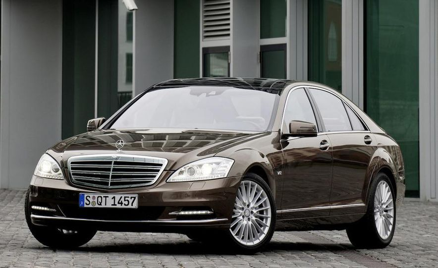 2012 Mercedes-Benz S-class (spy photo) - Slide 37