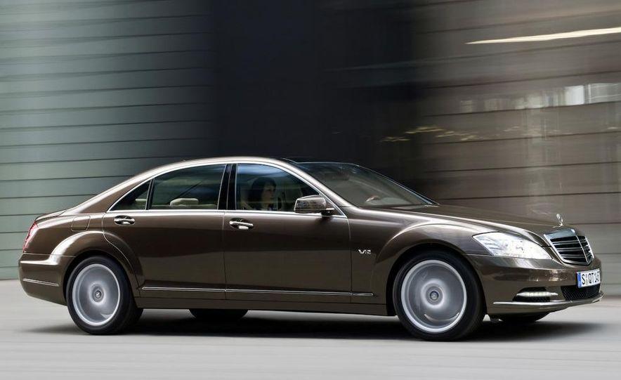 2012 Mercedes-Benz S-class (spy photo) - Slide 28