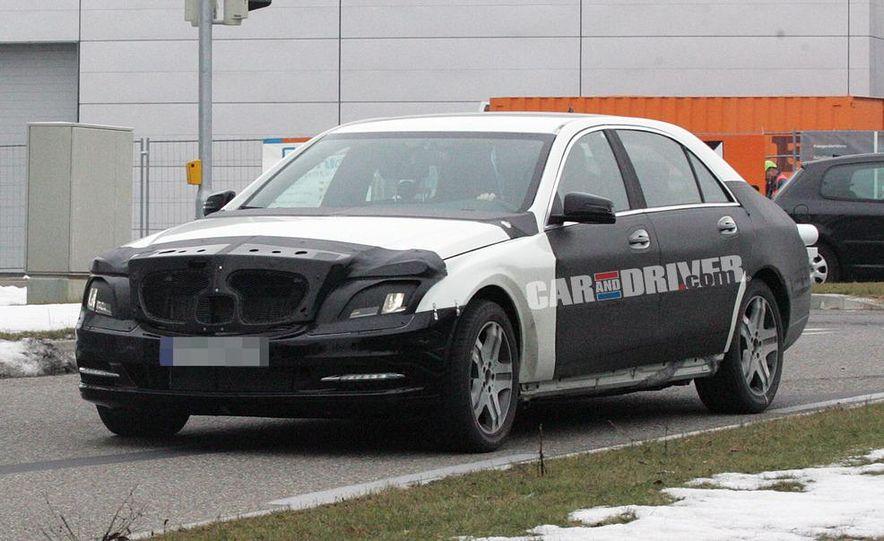 2012 Mercedes-Benz S-class (spy photo) - Slide 1