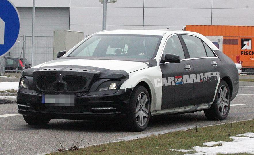 2012 Mercedes-Benz S-class (spy photo) - Slide 2
