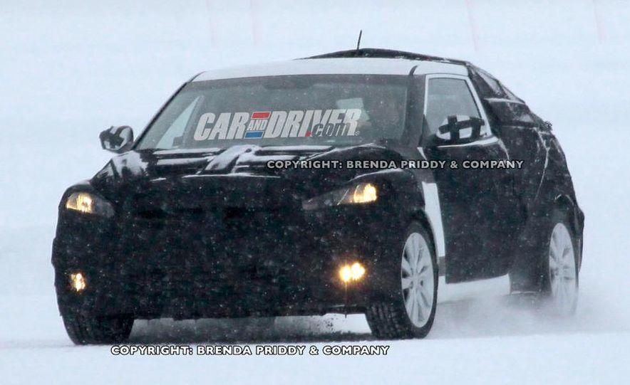2012 Hyundai Veloster (spy photo) - Slide 1