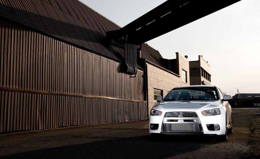 2008 Mitsubishi Lancer Evolution MR - Slide 28