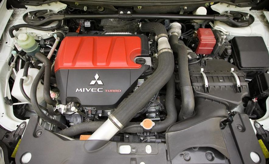 2008 Mitsubishi Lancer Evolution MR - Slide 71