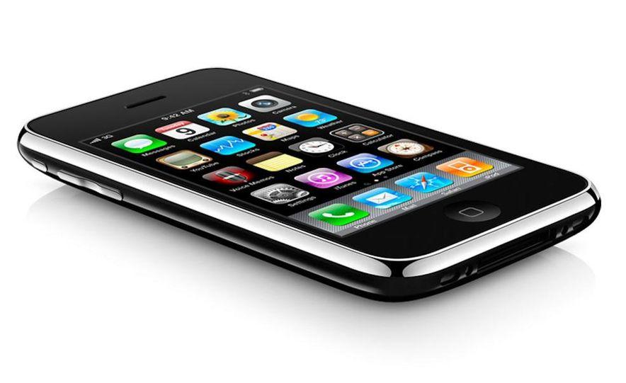 Apple iPhone 3GS - Slide 1