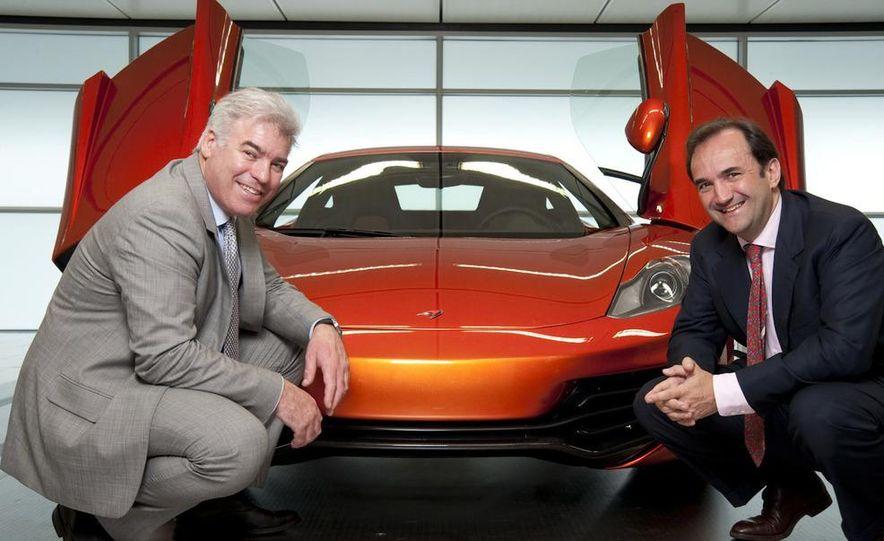 Ron Dennis, McLaren Automotive Chairman - Slide 40