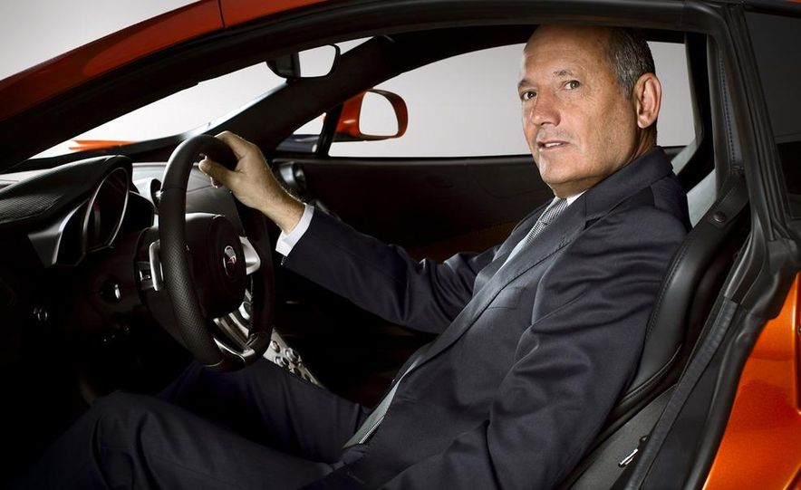 Ron Dennis, McLaren Automotive Chairman - Slide 1