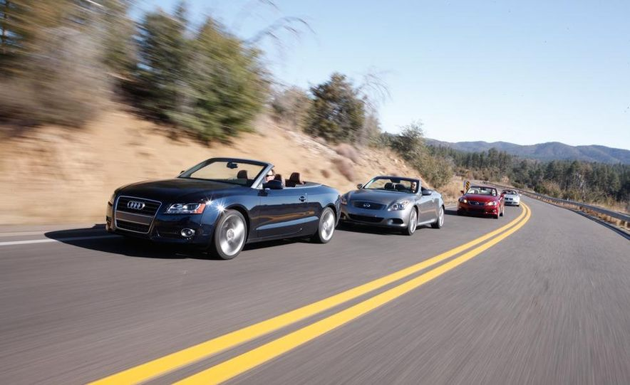 2010 Lexus IS350C and 2010 BMW 328i convertible - Slide 6