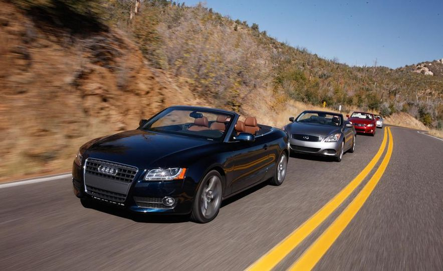 2010 Lexus IS350C and 2010 BMW 328i convertible - Slide 7
