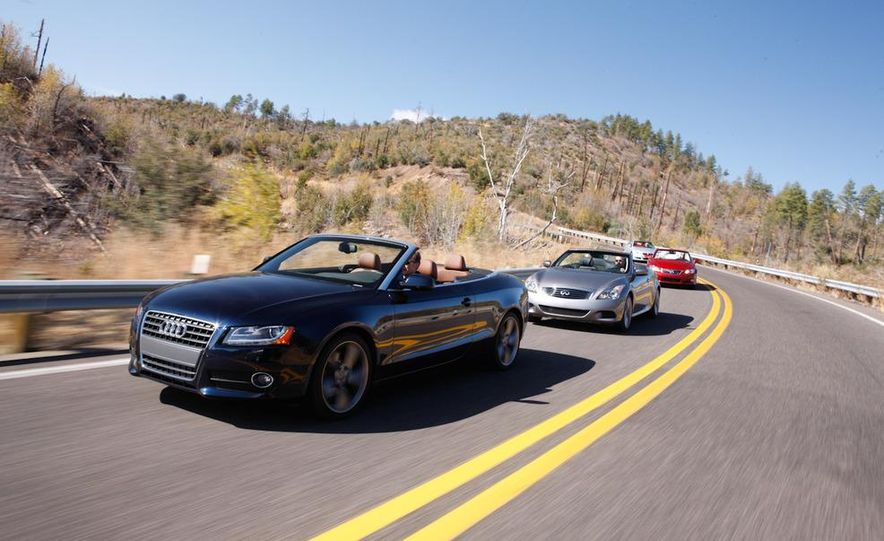 2010 Lexus IS350C and 2010 BMW 328i convertible - Slide 20