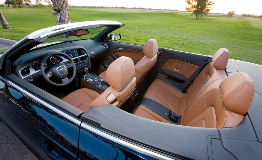 2010 Lexus IS350C and 2010 BMW 328i convertible - Slide 24