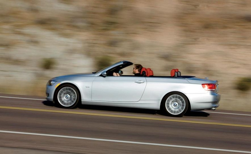 2010 Lexus IS350C and 2010 BMW 328i convertible - Slide 28