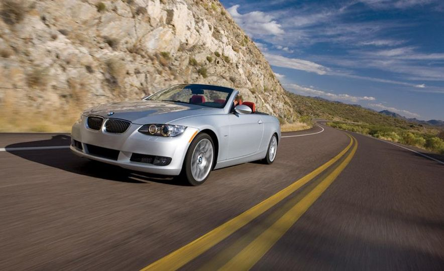 2010 Lexus IS350C and 2010 BMW 328i convertible - Slide 29