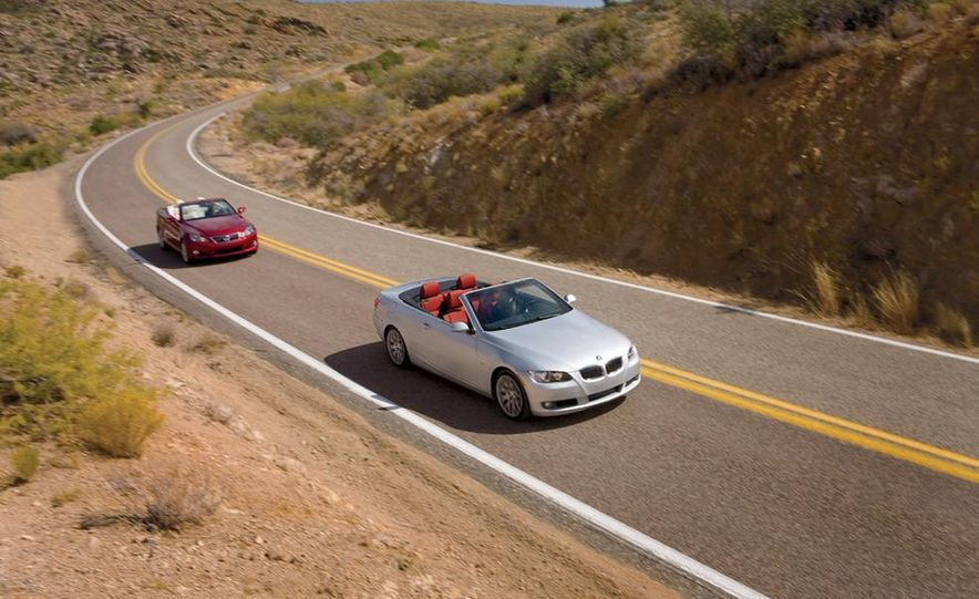 2010 Lexus IS350C and 2010 BMW 328i convertible - Slide 1