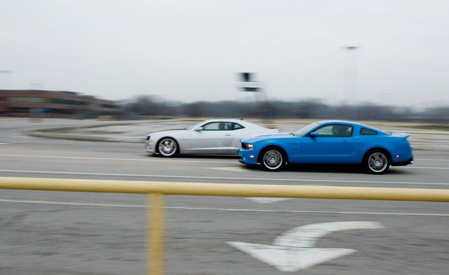 2010 Lingenfelter Chevrolet Camaro SS and 2010 Roush Ford Mustang Stage 3 - Slide 3