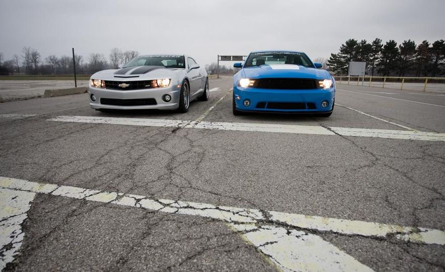 2010 Lingenfelter Chevrolet Camaro SS and 2010 Roush Ford Mustang Stage 3 - Slide 5
