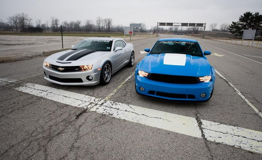 2010 Lingenfelter Chevrolet Camaro SS and 2010 Roush Ford Mustang Stage 3 - Slide 7